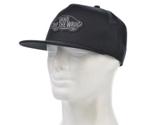 Classic Patch - Snapback Cap für Herren - Schwarz