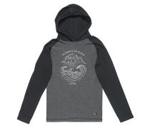 Hooded - Langarmshirt für Jungs - Grau