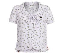 Rumvögelchen IV - Bluse für Damen - Weiß