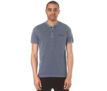 Henley - T-Shirt für Herren - Blau