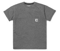 Carrie Pocket - T-Shirt für Damen - Grau