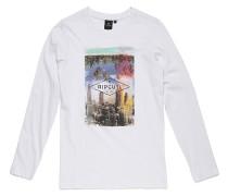 Palm Building - Langarmshirt für Jungs - Weiß
