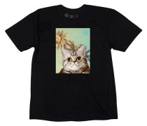 Cat Paradise T-Shirt - Schwarz