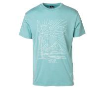 Arty Cold Dye - T-Shirt - Blau