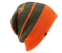 Modern Stripe - Mütze für Herren - Grün