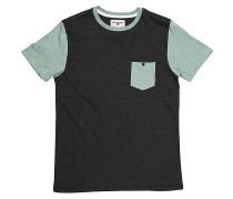 All Day Contrast Crew - T-Shirt für Herren - Schwarz