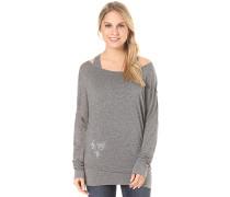Sheila - Langarmshirt für Damen - Schwarz