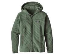 Cotton Quilt - Kapuzenjacke für Damen - Grün