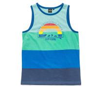 Striped Nation T-Shirt - Blau