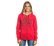 Talca - Kapuzenjacke für Damen - Rot