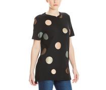 Foil Dots - T-Shirt für Damen - Schwarz