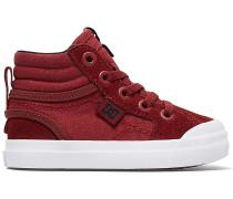 Evan High Sneaker - Rot
