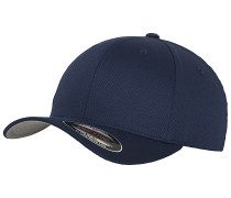 Wooly Combed Cap - Blau