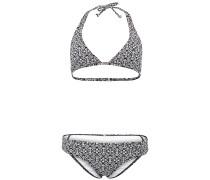 Halter - Bikini Set für Damen - Schwarz