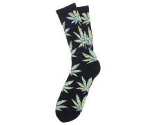 Melange Plantlife Crew - Socken für Herren - Schwarz