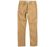 Distorsion Colors - Jeans für Jungs - Braun