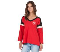 Number One - Sweatshirt für Damen - Rot
