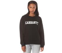College - Sweatshirt für Damen - Schwarz
