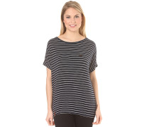 Striped Girl III - T-Shirt für Damen - Blau