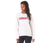 College - Sweatshirt für Damen - Weiß
