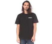 College Script - T-Shirt - Schwarz