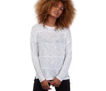 Get In Line - Langarmshirt für Damen - Weiß