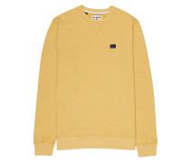 All Day Crew - Sweatshirt - Gelb