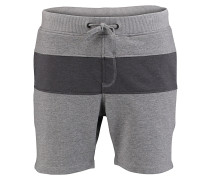 Blocked Jogger - Shorts für Herren - Grau
