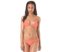 Corslet - Bikini Set für Damen - Orange