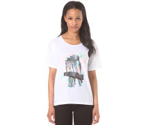 Tropical - T-Shirt für Damen - Weiß