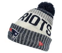 ONF Nfl17 Sport Knit New England Patriots Otc Mütze - Blau