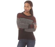 Cape - Strickpullover für Damen - Schwarz