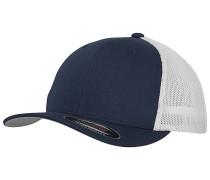 Mesh 2-Tone Trucker Cap - Blau