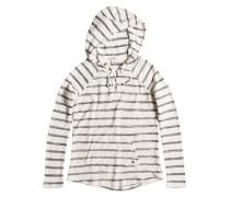 Adelaide Poncho - Kapuzenpullover für Damen - Weiß
