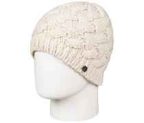 Love Snow - Mütze für Damen - Beige