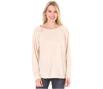 Never Sleeps - Langarmshirt für Damen - Beige