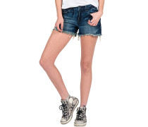 "Stoned 3"" - Shorts für Damen - Blau"