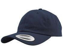 Low Profile Cotton TwillSnapback Cap Blau