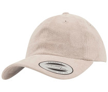 Low Profile Velours Cap - Beige