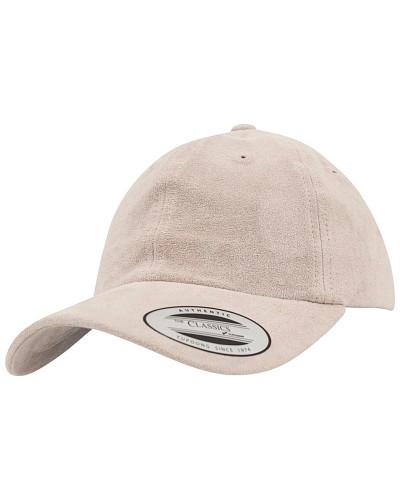 Low Profile Velours Cap - Beige
