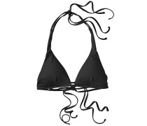 Solid Tallowood - Bikini Oberteil für Damen - Schwarz