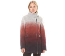 Bonded Biker - Mantel für Damen - Grau