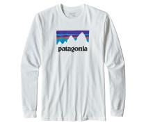 Shop Sticker - Langarmshirt für Herren - Weiß