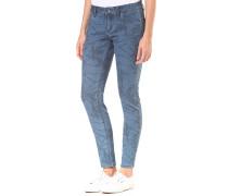 Suntripper Print - Jeans für Damen - Blau