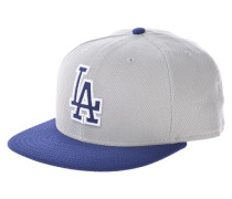 Diamond Era Los Angeles Dodgers Road Fitted CapFitted Cap Grau