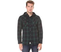 Violator Hooded Flannel - Hemd für Herren - Grün