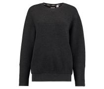 Quilted - Sweatshirt für Damen - Grau