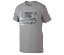 50/50 Gradient Ellipse - T-Shirt für Herren - Grau