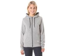 Plain Premium - Kapuzenjacke für Damen - Grau