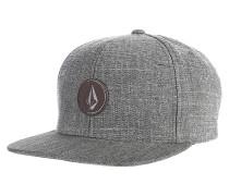 Quarter Fabric - Snapback Cap für Herren - Grau